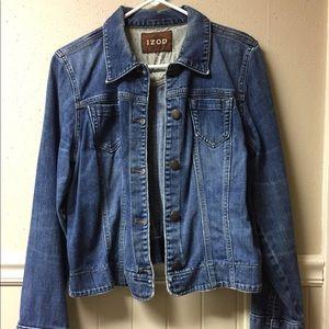 Izod blue jean jacket